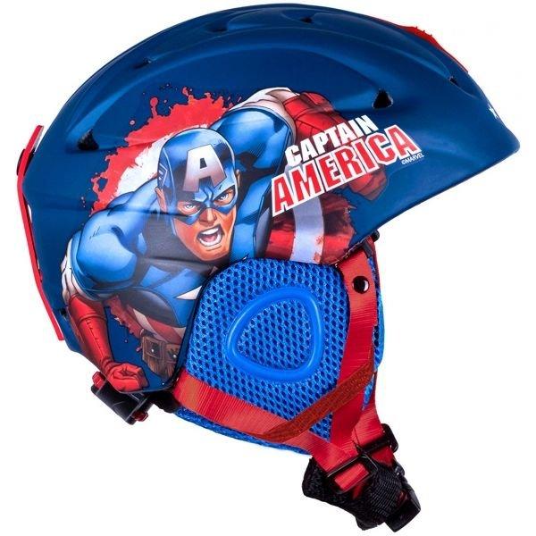 Modrá dětská lyžařská helma Disney Brand - velikost 55-56 cm