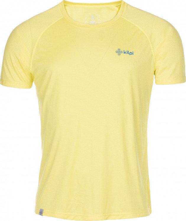 Žluté pánské běžecké tričko Kilpi