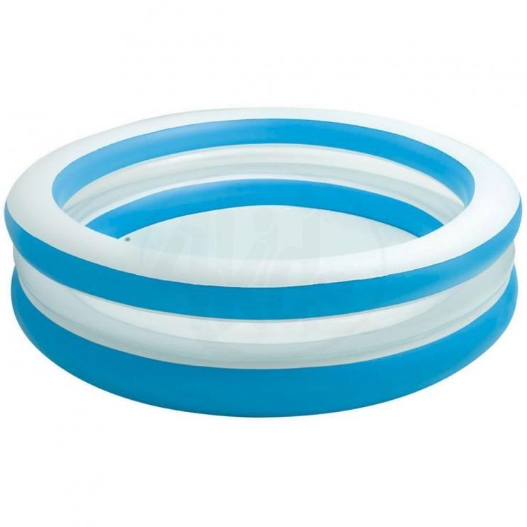Dětský nafukovací nadzemní kruhový bazén INTEX - průměr 203 cm a výška 51 cm