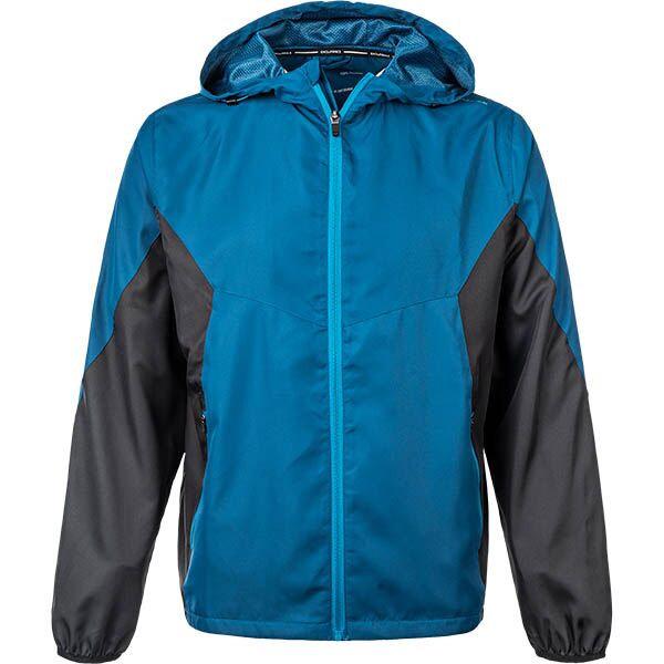 Modrá pánská běžecká bunda s kapucí Endurance Alfred, Endurance