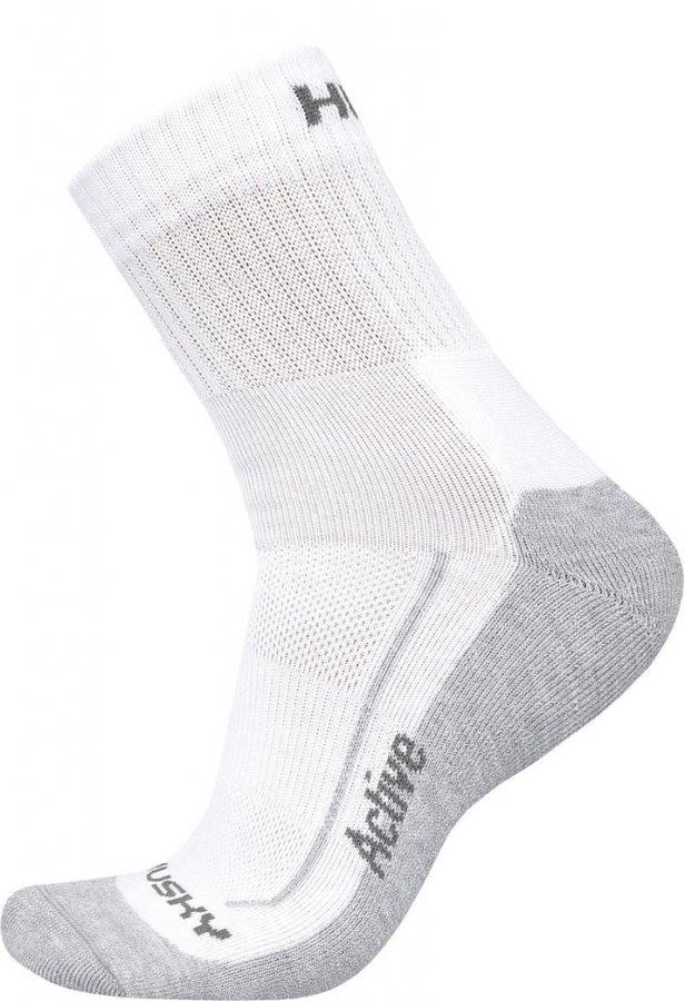 Bílé pánské trekové ponožky Husky - velikost 41-44 EU