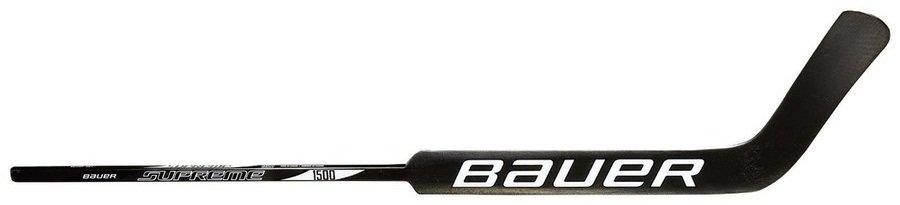 Pravá brankářská hokejka (senior) Supreme 1500, Bauer - délka 67 cm