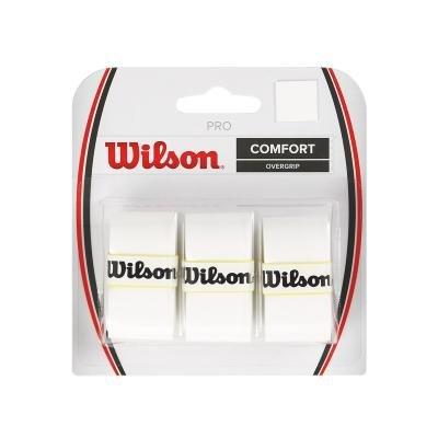 Bílá tenisová omotávka Pro Overgrip, Wilson - 3 ks