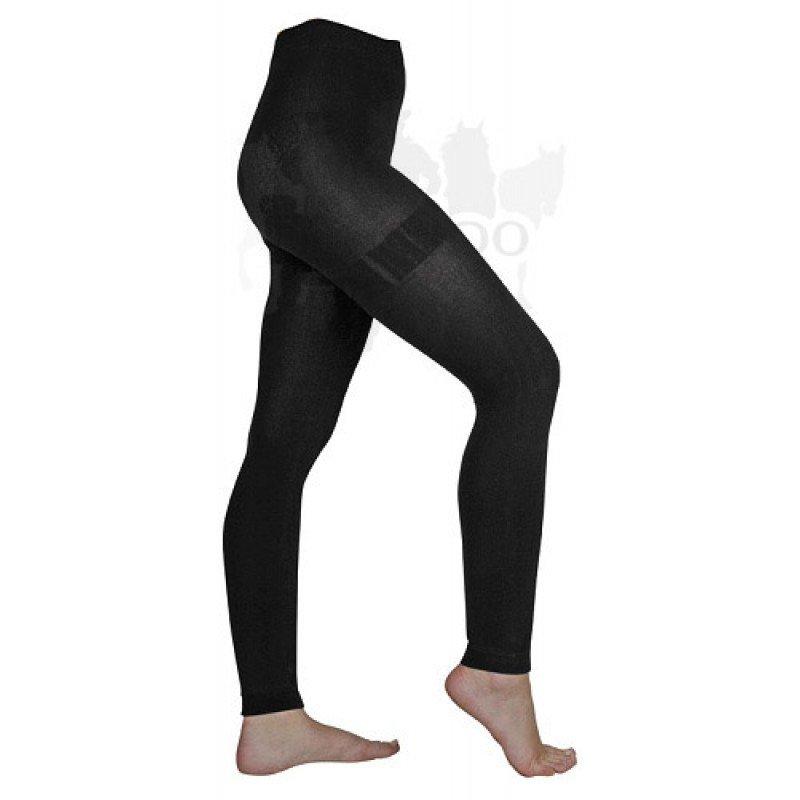 Černé jezdecké kalhoty HKM