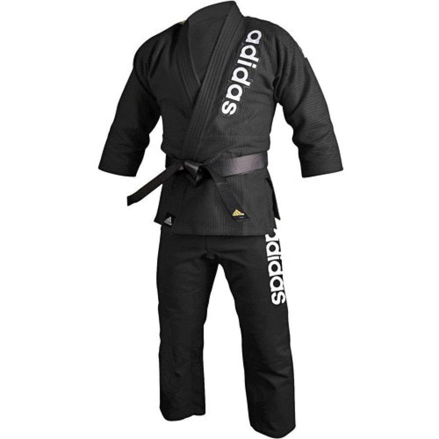 Černé kimono na jiu-jitsu Adidas - velikost 160