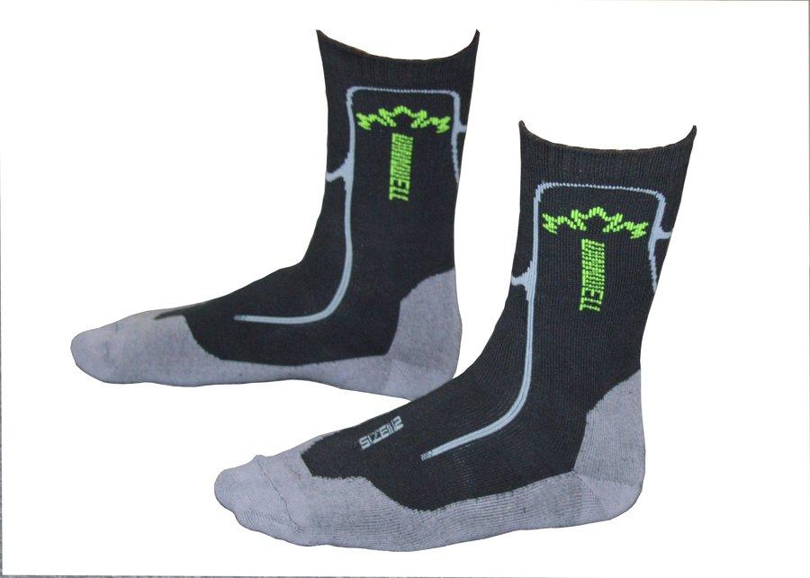 Hokejové ponožky - Ponožky Winnwell Velikost EUR: 36-37, Velikost Výrobce: 3.0-4.0