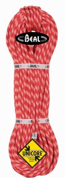 Oranžové lano Ice Line Unicore, Beal - průměr 8,1 mm a délka 70 m