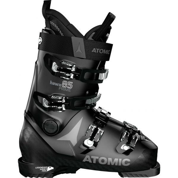 Černé dámské lyžařské boty Atomic - velikost vnitřní stélky 27-27,5 cm