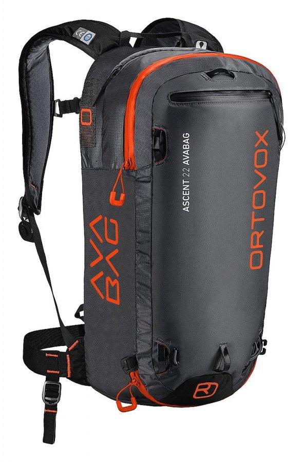 Černý lavinový skialpový batoh Ortovox - objem 22 l