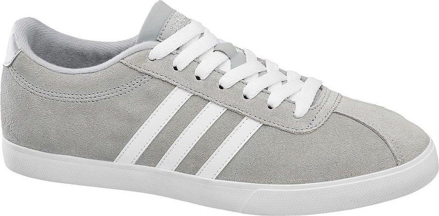 Šedé dámské tenisky Adidas - velikost 37 1/3 EU