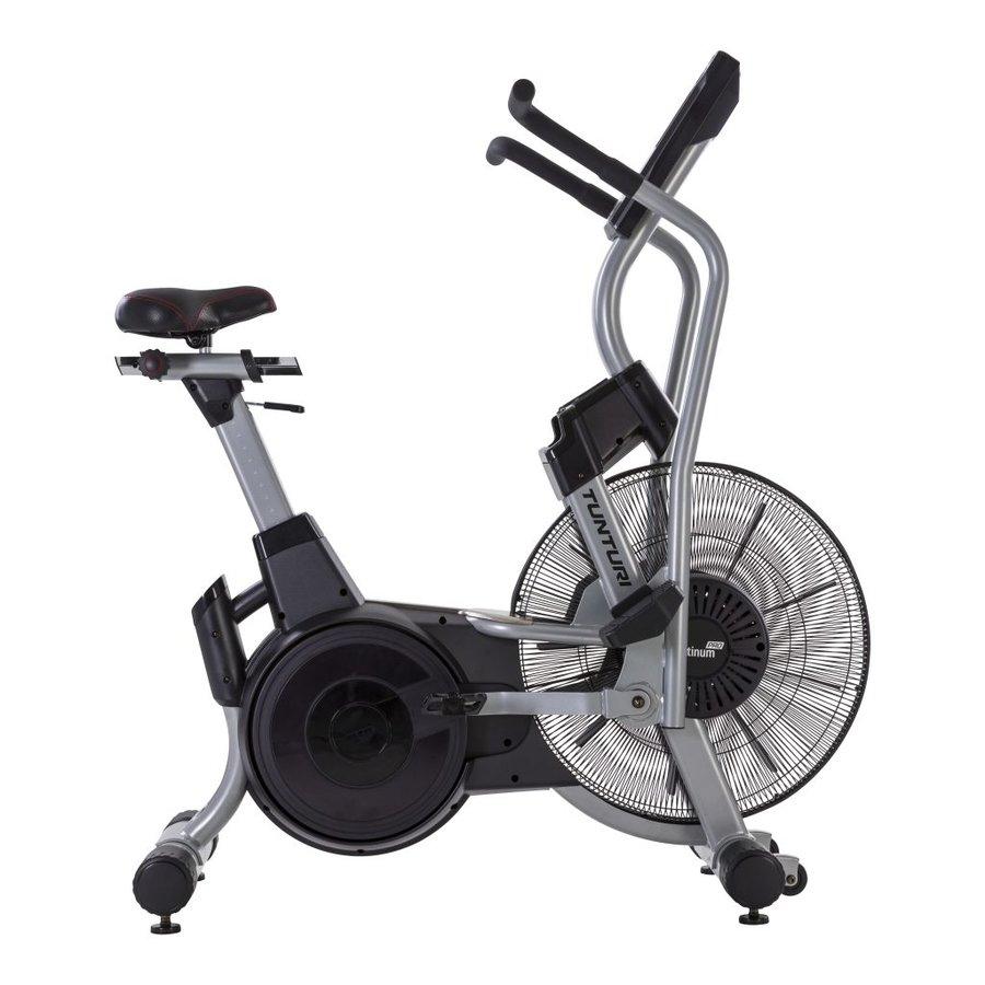 Eliptický trenažér PLATINUM Air Bike PRO, Tunturi - nosnost 165 kg