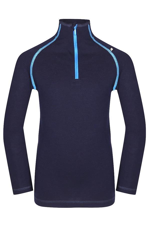 Modré dětské funkční tričko Alpine Pro