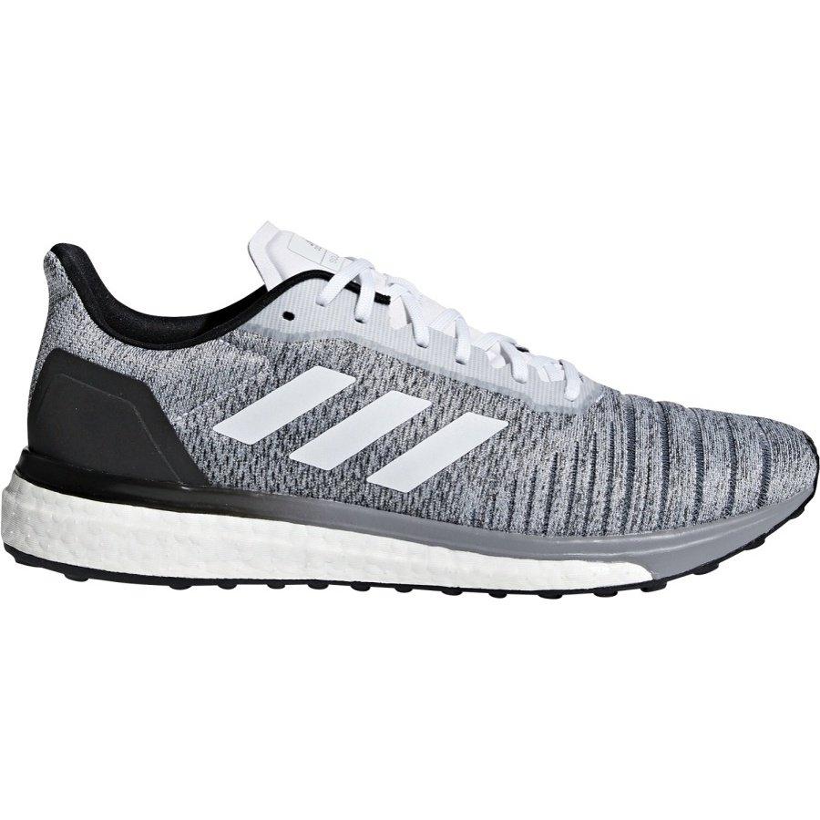 Šedé pánské běžecké boty Solar drive, Adidas - velikost 42 EU