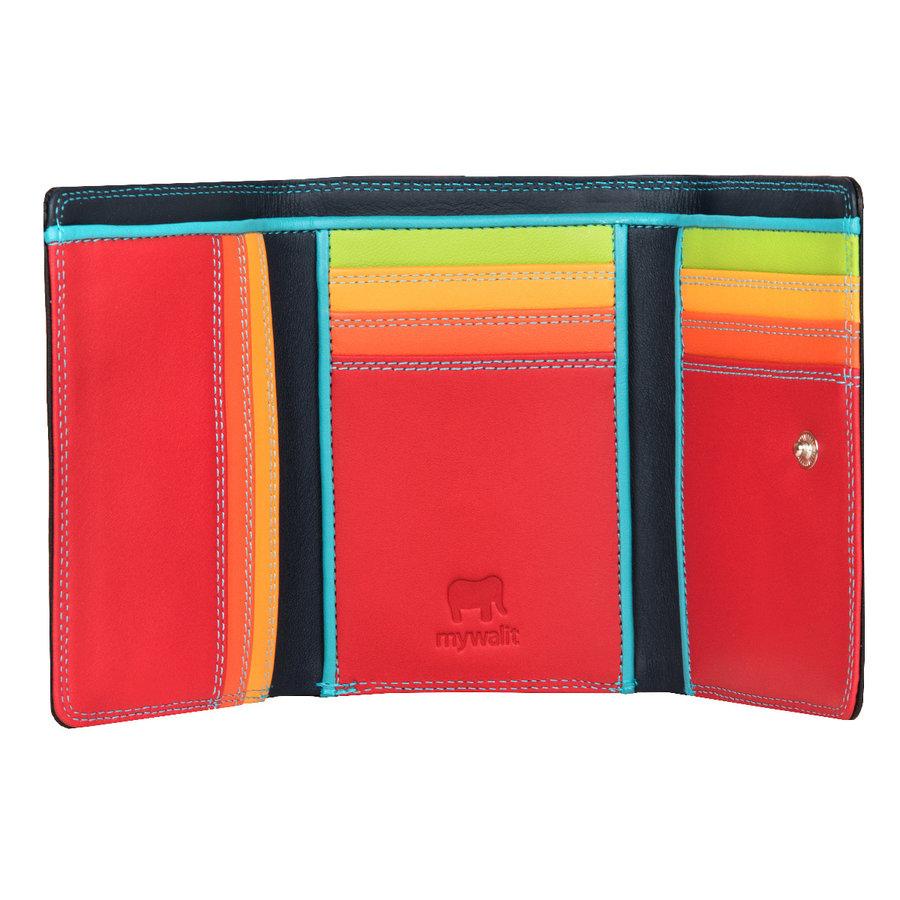Peněženka - Mywalit Medium Tri-fold Wallet Black Pace