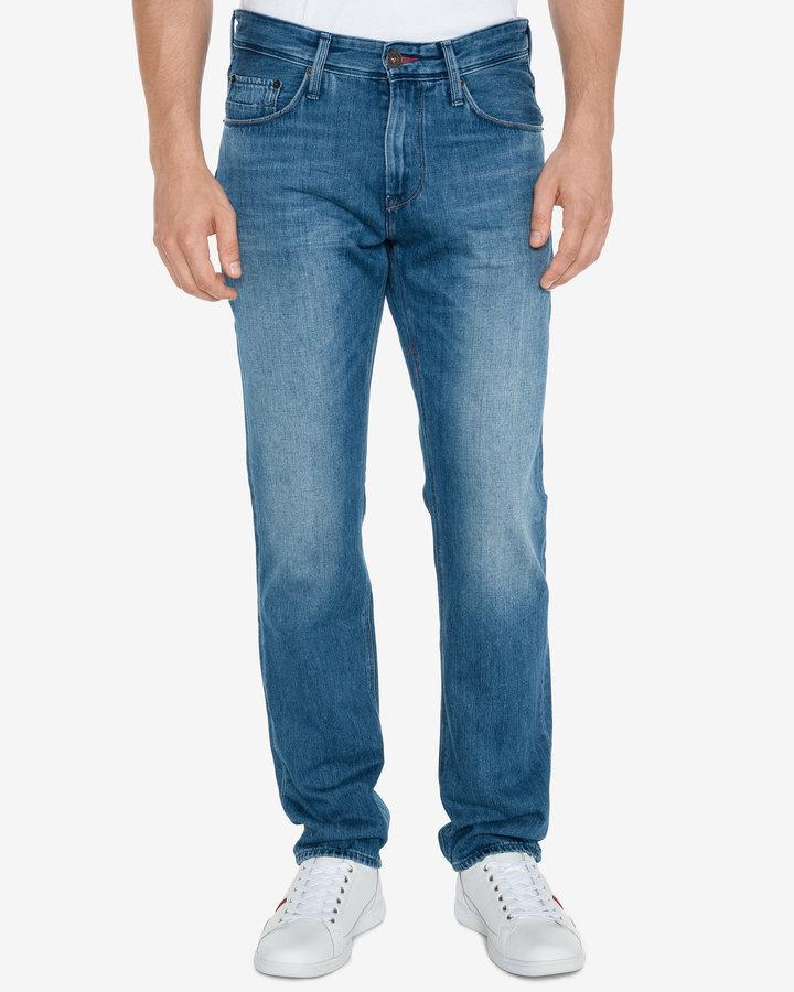 Modré pánské džíny Tommy Hilfiger - velikost 35