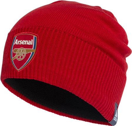 Červená zimní čepice Adidas