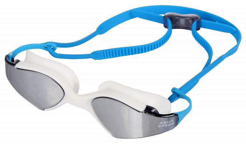 Černo-modré plavecké brýle Blade Mirror, Aqua-Speed