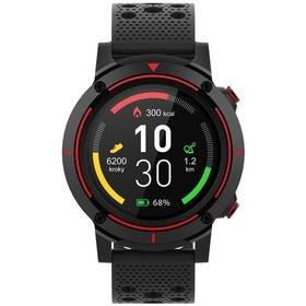 Černé chytré hodinky Active A8, iGET