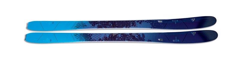 Modré dámské freeridové lyže bez vázání Fischer