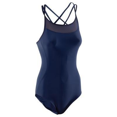 Modrý dámský baletní trikot Domyos