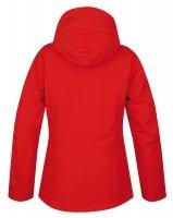 Červená dámská lyžařská bunda Husky - velikost M