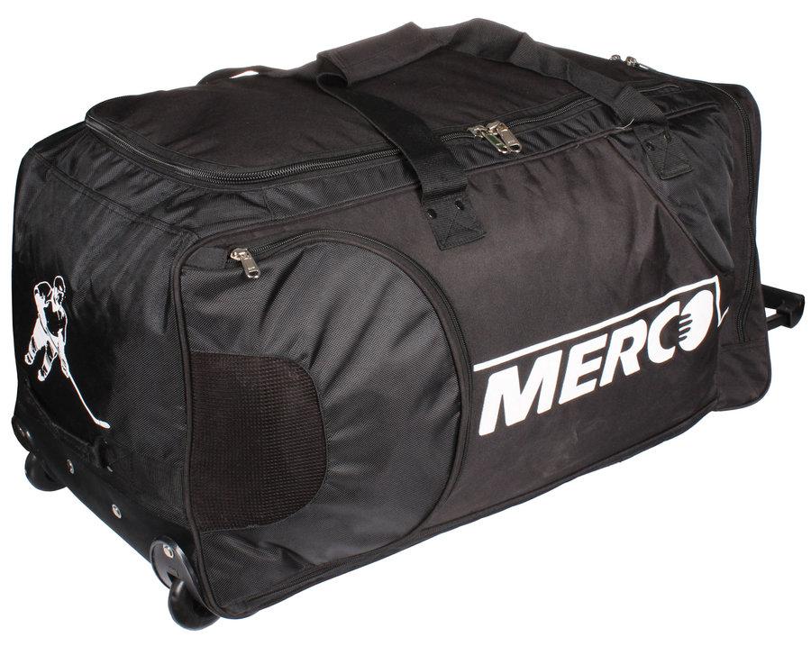 Černá taška na hokejovou výstroj - junior Merco