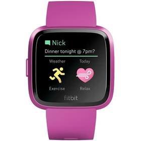 Růžové chytré hodinky Versa Lite, Fitbit