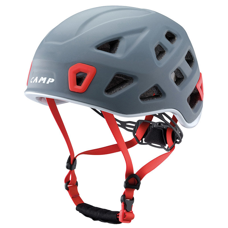 Šedá pánská horolezecká helma Storm, Camp - velikost 54-62 cm