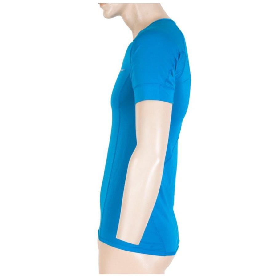 Modré pánské tričko s krátkým rukávem Sensor - velikost M