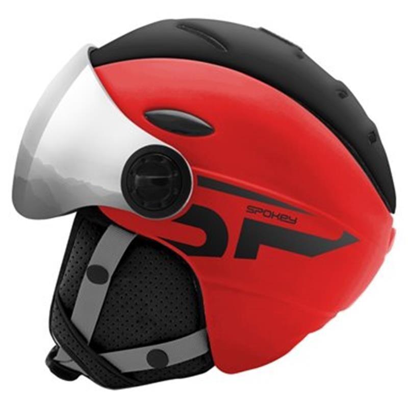 Černá lyžařská helma Spokey - velikost 58-61 cm