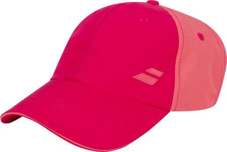Růžová běžecká kšiltovka Basic, Babolat - univerzální velikost