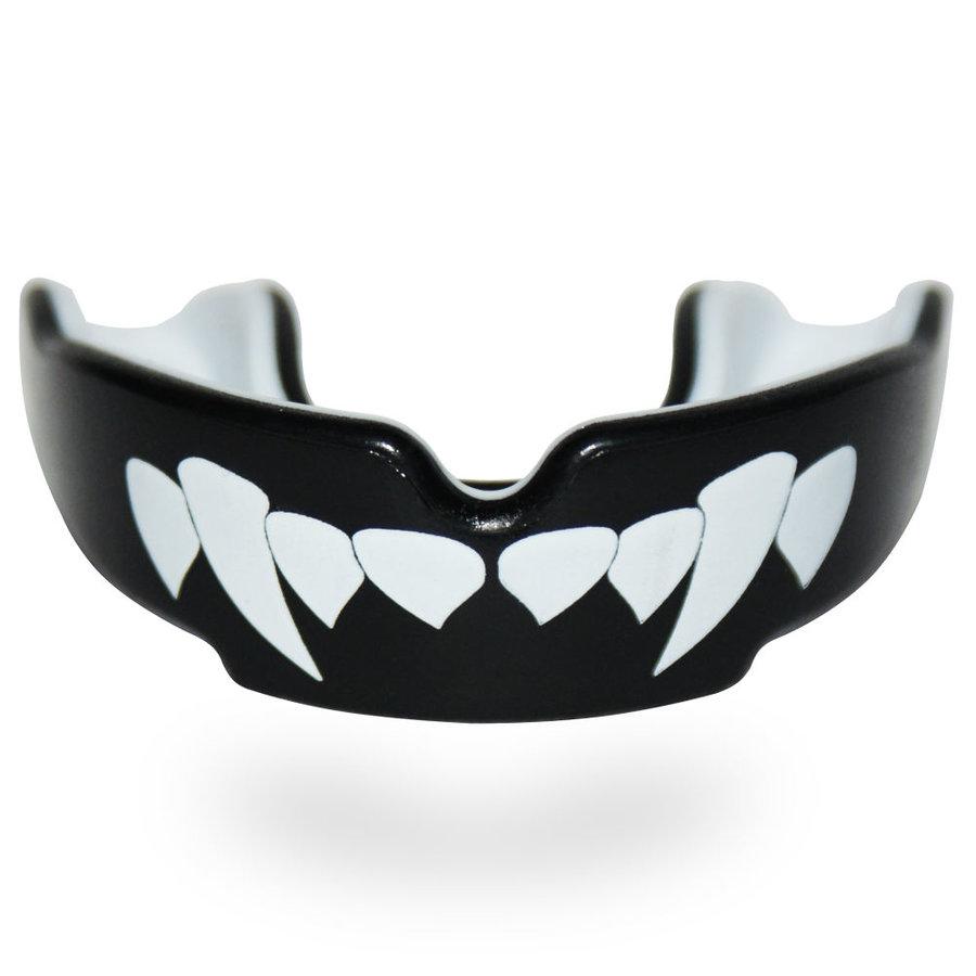Černý chránič na zuby na bojové sporty SAFEJAWZ