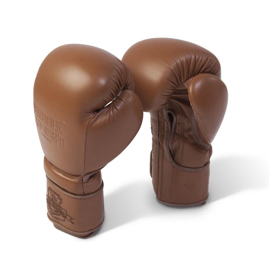 Hnědé boxerské rukavice Paffen Sport