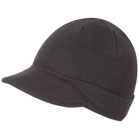 Zimní čepice - Čepice JEEP pletená ČERNÁ
