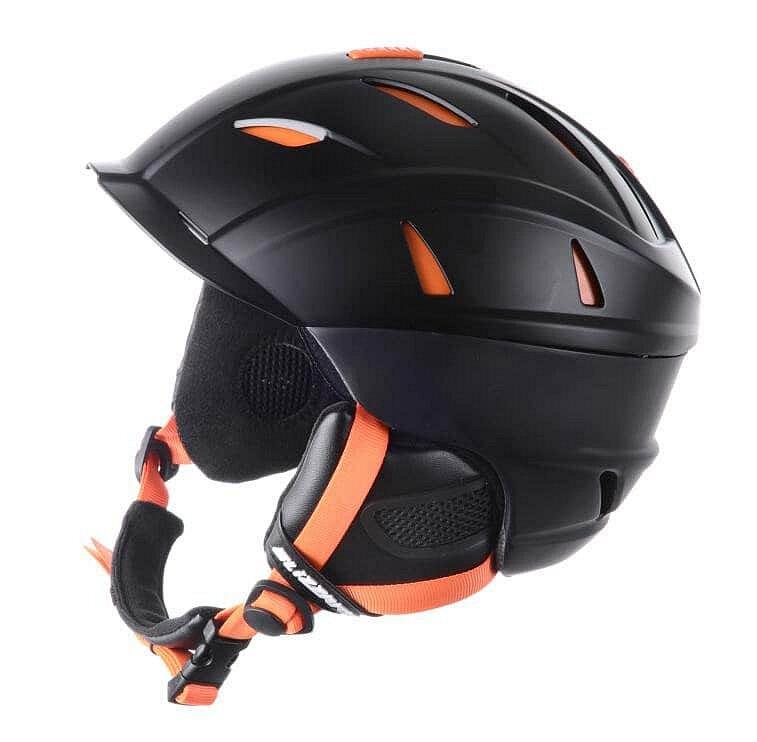 Černo-oranžová lyžařská helma Blizzard - velikost 58-61 cm