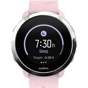 Růžové chytré dámské hodinky 3 Fitness Sakura, Suunto