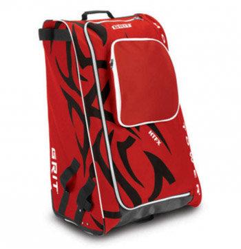 Červená taška na hokejovou výstroj - junior Grit