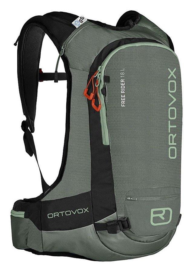 Zelený skialpový batoh Ortovox - objem 18 l