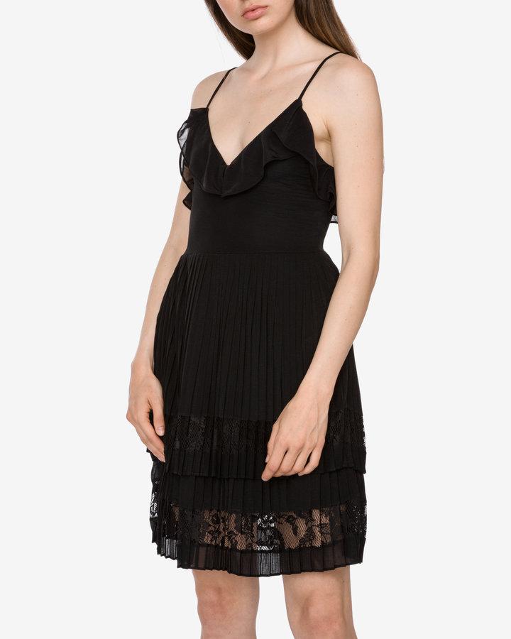 Černé dámské šaty French Connection - velikost XXS