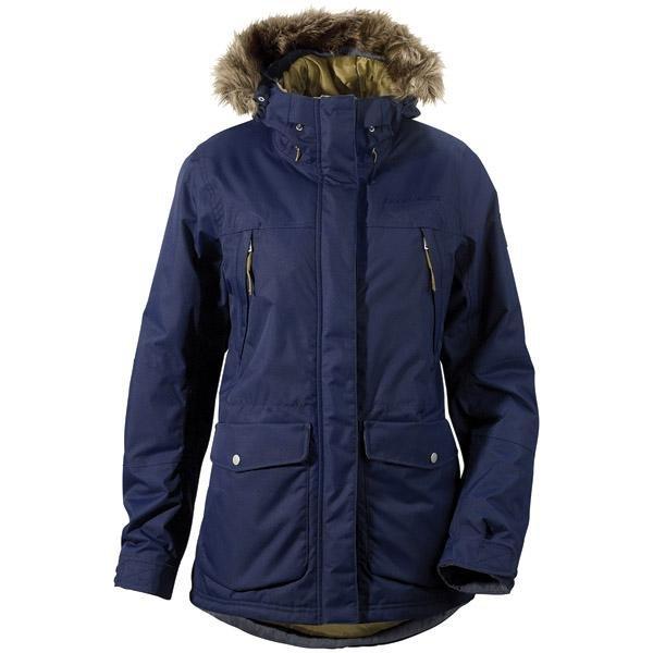 Modrá zimní dámská bunda s kapucí Didriksons1913 - velikost 34
