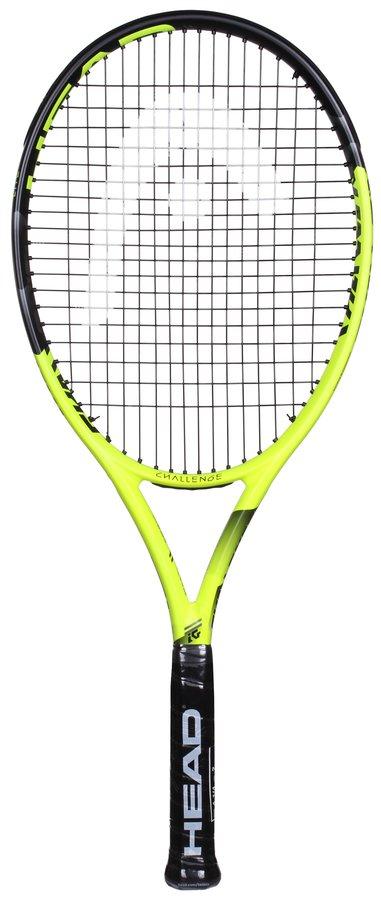 Žlutá tenisová raketa Head - délka 68,5 cm