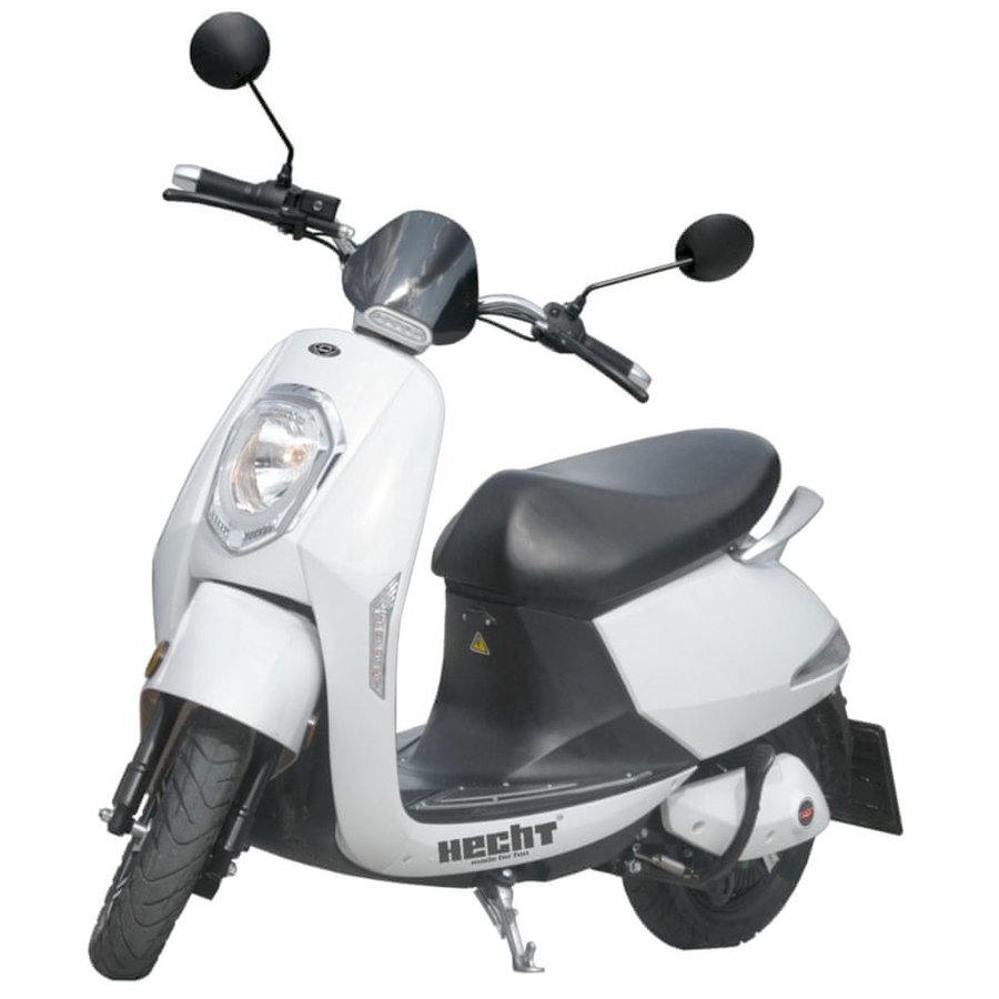 Bílá elektrická motorka Grace, HECHT