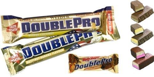 Proteinová tyčinka - Double Pro Bar - Weider Hazelnut & Banana 100g