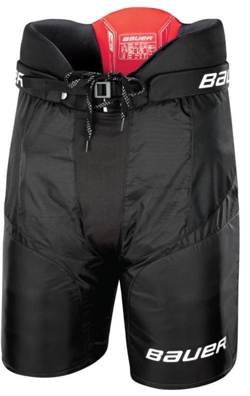 Černé hokejové kalhoty Bauer - velikost L