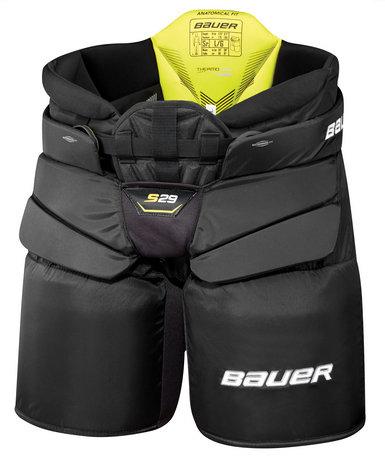 Černé brankářské hokejové kalhoty - senior Bauer