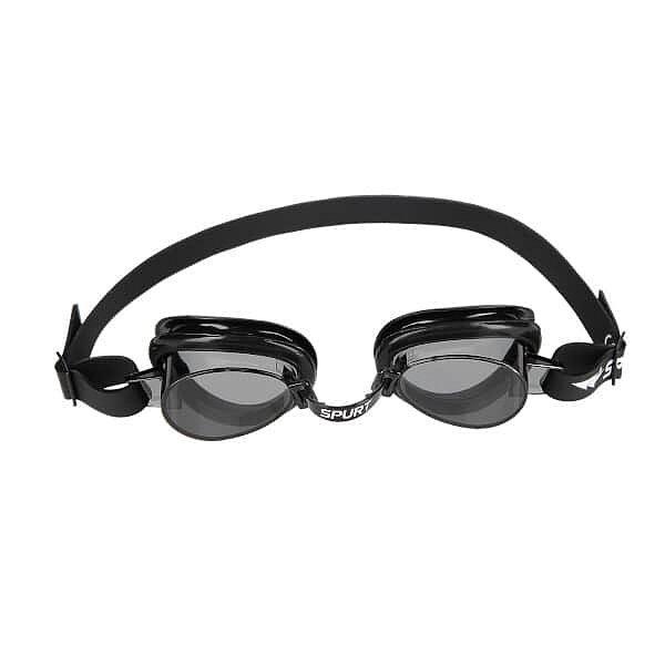 Černé plavecké brýle 1100 AF 11, SPURT
