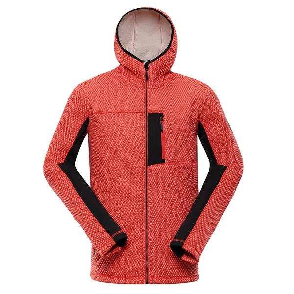 Oranžový pánský svetr Alpine Pro