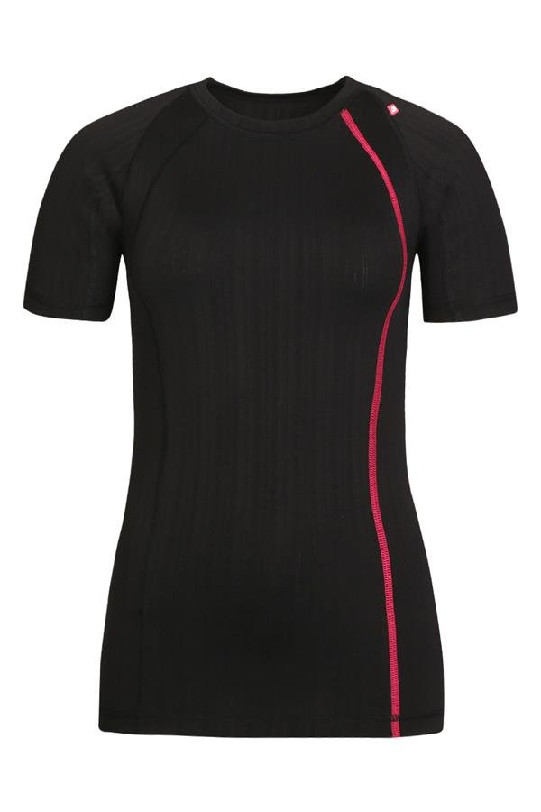 Černé dámské funkční tričko Alpine Pro - velikost XS