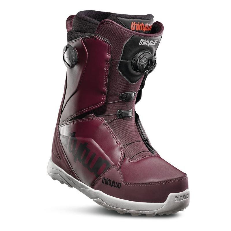 Červené pánské boty na snowboard ThirtyTwo
