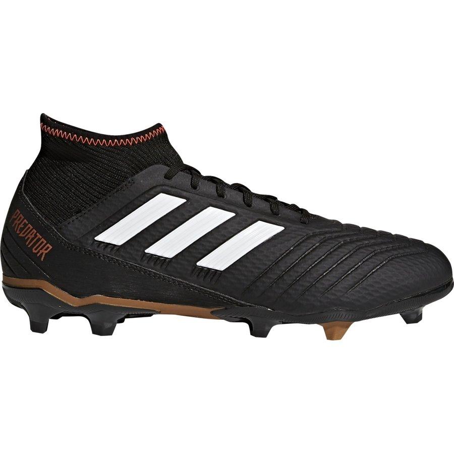 Černé kopačky lisovky Predator 18.3 FG, Adidas - velikost 42 EU